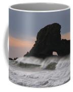 Pacific Northwest Waves Coffee Mug