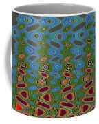Pacific Ocean From Oregon Abstract Coffee Mug