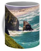 Pacific Ocean Shore Coffee Mug
