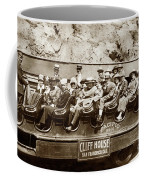 Pacific Siteseeing Co Bus No. 15 With A Load Of Tourists On Point 1919 Coffee Mug