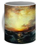 Pacific Sunset Coffee Mug by Thomas Moran