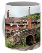 Packhorse Bridge At Allerford Coffee Mug