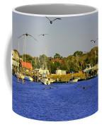 Paddle Boarders Vs Birds Coffee Mug
