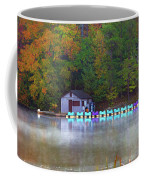 Paddle Boats On The Lake Coffee Mug