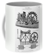 Paddle-driven Beam-engine Suction Pump Coffee Mug