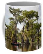 Paddling In The Bayou Coffee Mug