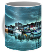 Padstow Harbour At Dusk Coffee Mug
