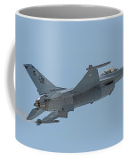 Paf F16 Independance Day Fly Past Coffee Mug