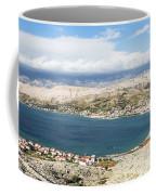Pag Old Town In Croatia Coffee Mug