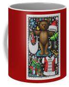 Page 1 Of 2 Teddy Bear Santa Claus Paper Doll Coffee Mug