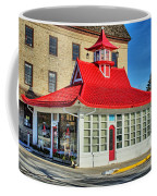 Pagoda Gas Station Coffee Mug