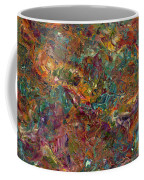 Paint Number 16 Coffee Mug by James W Johnson