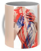 Paint On Woman Body Coffee Mug