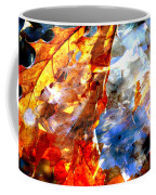Painted Branches Abstract 1 Coffee Mug