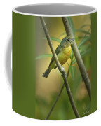 Painted Bunting Female Coffee Mug