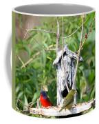 Painted Buntings Coffee Mug