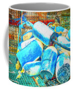 Painted Buoys Coffee Mug