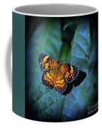 Painted Butterfly Coffee Mug