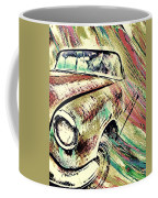 Painted Car Coffee Mug