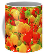 Painted Chilies Coffee Mug