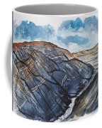 Painted Desert Landscape Mountain Desert Fine Art Coffee Mug