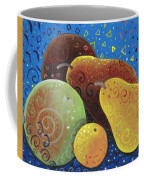 Painted Fruit Coffee Mug