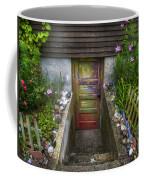 Painted Garden Door Coffee Mug