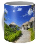 Painted Island Pathway Coffee Mug