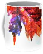 Painted Leaf Series 4 Coffee Mug