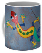 Painted Lizard Coffee Mug