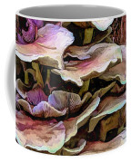 Painted Mushrooms Coffee Mug