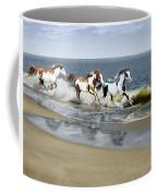Painted Ocean Coffee Mug