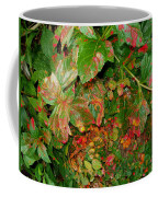 Painted Plants Coffee Mug