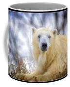 Painted Polar Bear  Coffee Mug