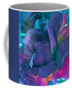 Painted Silk Coffee Mug