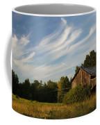 Painted Sky Barn Coffee Mug by Benanne Stiens