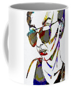 Painted Sunglasses Coffee Mug