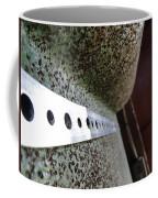 Painted Textured Coffee Mug