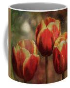 Painted Tulips Coffee Mug by Richard Ricci