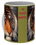 Painted Warrior... Coffee Mug by Will Bullas