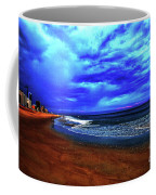 Painterly Beach Scene Coffee Mug