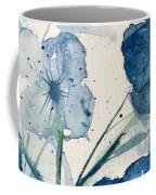 Painterly  Blues Coffee Mug