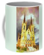 Painterly Church Coffee Mug