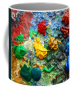 Painters Palette Coffee Mug