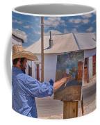 Painting Barrio Viejo Coffee Mug