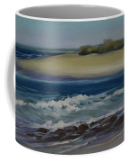 Painting Happy Valley Caloundra Qld Plein Air Painting Coffee Mug