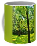 Painting-like Photo Of A Rural Lawn Coffee Mug
