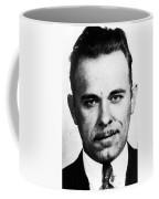 Painting Of John Dillinger Mug Shot Coffee Mug