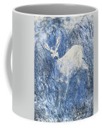Painting Of Young Deer In Wild Landscape With High Grass. Graphic Effect. Coffee Mug