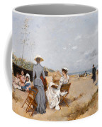 Painting On The Beach  Coffee Mug